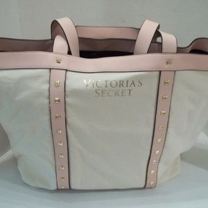 Victoria's Secret Hand Bag Purse Pouch Tote Pink